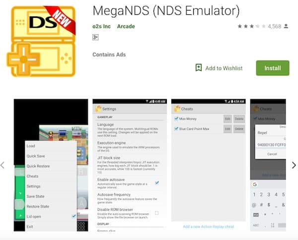MegaNDS