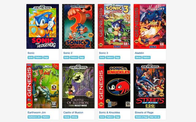 Sega Genesis Emulator