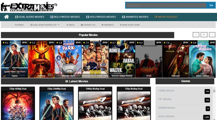 ExtraMovies 2021 how to download movies