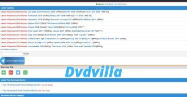 dvdvilla hd movies download website latest dvdvilla new